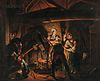 Johan Herman Faber (Flemish, 1734-1800) After Joseph Wright of Derby (British 1734-1797)      Copy After An Iron Forge