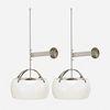 Vico Magistretti, Omega wall lamps, pair
