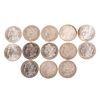 Complete Set of 13 Carson City Morgan Dollars