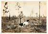 Annie Oakley Silver gelatin hunting photograph