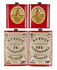 Four Dupont powder tins