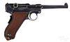DWM 1906 American Eagle Luger semi-auto pistol