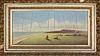 "Wendell Macy Oil on Canvas ""Sankaty Light from Sankaty Head Road Looking South"", circa 1898"