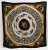 """Hermes """"Astrologie / Dies et Hore"""" Silk Scarf"""