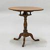 Mahogany Tilt-top Birdcage Tea Table