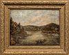 American School, Late 19th Century    Mountain and Lake Scene