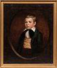 American School, 19th Century    Portrait of a Boy