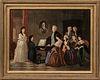 American School, Late 19th Century    Music Room Scene