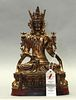 Chinese bronze Buddha, possibly Qing dynasty