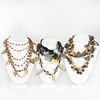Group of Four Miscellaneous Beaded Necklaces
