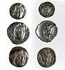Lot of 3 Ancient Greek Silver Coins - Total 15.1 g