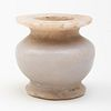 Small Egyptian Anhydrite Jar