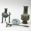 Group of Luristan Bronze Artifacts