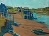 Gertrude Fiske (Am. 1879-1961)     -  Turbat's Creek   -   Oil on canvas