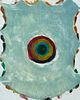 Katherine Bradford (Am. b. 1942)     -  Untitled, 1995   -   Monotype on paper, framed under glass