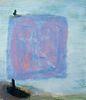 "Katherine Bradford (Am. b. 1943)     -  ""Sail Boat"" 2011   -   Oil on canvas"