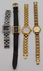 JEWELRY. Assorted Fashion Watches Including Gucci.