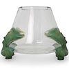 "Lalique ""Antinea"" Crystal Vase"