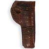 Crocodile Leather Gun Holster