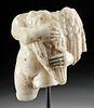 Roman Marble Cupid Holding Bird, Art Loss Certificate