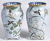 Pair of Japanese porcelain vases, ca. 1900