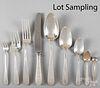 Gorham sterling silver flatware service for twelv