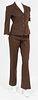 Prada Designer Cotton Blend Pantsuit