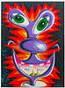 Kenny Scharf, Beauty From Within, 1997, 8 Color Lithograph
