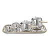 Limited Edition 7/10 Georg Jensen Sterling Silver Marc Newson Tea Set #1500