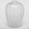 René Lalique Glass 'Tournai' Vase