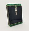 Cartier, Important Art Deco Enamel, Diamond Case