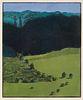 Linda Plotkin (American, b. 1938) Buffalo Run