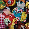 "Kari Tirrell ""Tin Menagerie"" Acrylic on board - Courtesy Rehs Contemporary Galleries, New York"