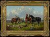 "John F Herring, Jr ""Farmyard Friends"" - Courtesy Rehs Galleries, New York"
