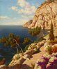 "Ivan Fedorovich Choultse ""Capri"" - Courtesy Rehs Galleries, New York"