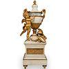 19th Cent French Marble & Ormolu Annular Clock