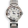 """Cartier """"Ballon Bleu"""" Stainless Watch"""