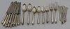 STERLING. Towle Virginia Carvel Flatware Service.