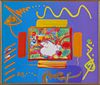 PETER MAX, Mixed Media, Signed