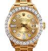 Womens ROLEX 18K Gold Presidential Chronometer
