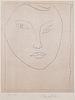 HENRI MATISSE, Portrait de Claude D., Lithograph