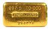 10 Ounce GOLD Englehard Bar Ingot