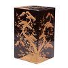 Japanese Five-Tier Lacquer Jubako Box, Meiji Period