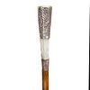 Arts and Crafts Silver and Pearl Dress Cane