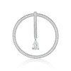 Chanel 3.01-Carat Pear-Shaped Diamond Drop Pendant
