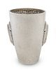 A Greek Hand Wrought Silver Cup Height 4 1/2 inches,