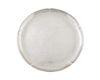 An American Art Deco Hand Wrought SilverCircular Tray Diameter 11 7/8 inches.