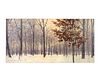 Paul Black (American, 20th Century) Winterscape