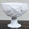 Astier de Villatte White Glazed Pottery Compote