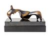 Henry Moore (British, 1898-1986) Pointed Reclining Figureconceived in 1948, cast in 1969